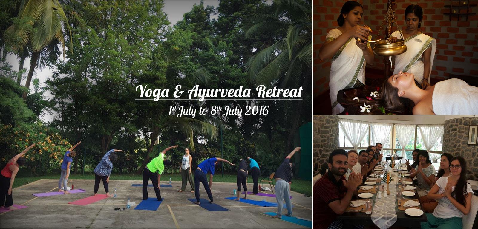 Yoga & Ayurveda Retreat 1st July - 8th July 2016